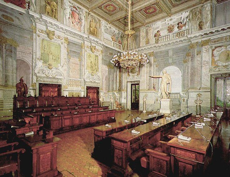 La foto del consiglio di stato