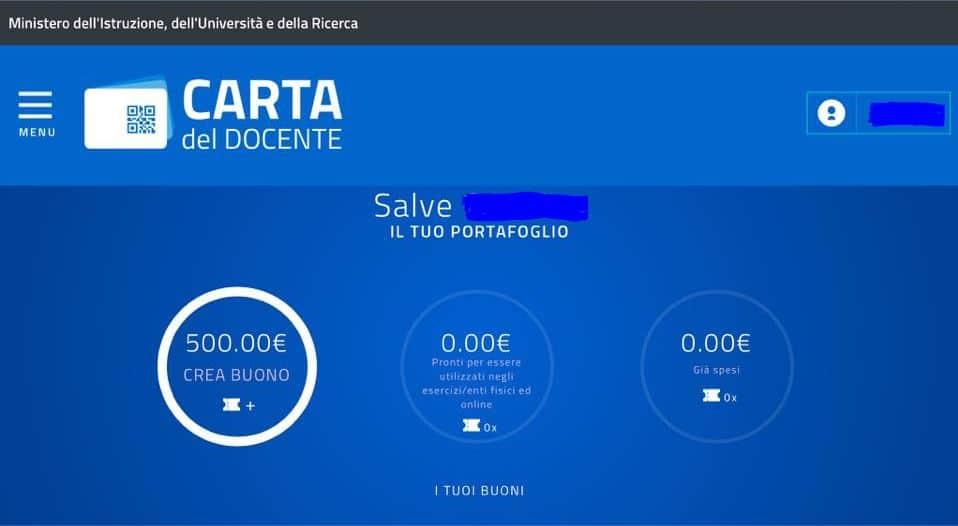 ecco come appare il bonus di 500 euro